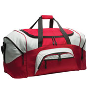 Custom Colorblock Sport Duffel