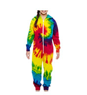 Custom Tie-Dye Youth All In One Loungewear