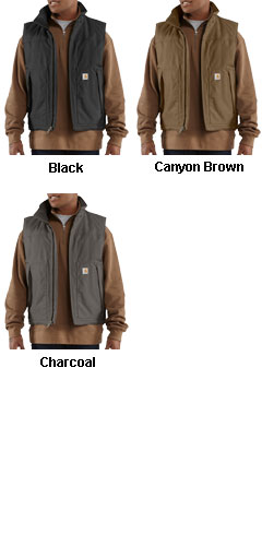 Carhartt Quick Duck Jefferson Vest - All Colors