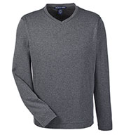 Mens Fairfield Herringbone V-Neck Pullover