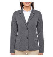 Custom Ladies Fairfield Herringbone Soft Blazer