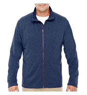 Mens Fairfield Herringbone Full-Zip Jacket