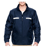 Custom Mens Fleece-Lined All-Season Jacket