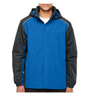 Core 365 Mens  Inspire Colorblock All-Season Jacket