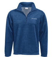 Custom Columbia Mens Dotswarm� Half-Zip Fleece Pullover