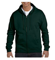 Hanes EcoSmart® Full-Zip Hooded Sweatshirt