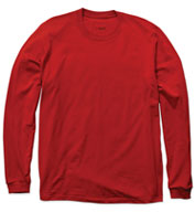 All American USA Spun Long Sleeve Tee