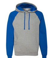 Custom JERZEES Nublend® Colorblocked Hooded Pullover Sweatshirt