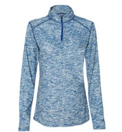 Ladies Blend 1/4 Zip  Pullover