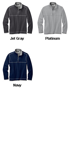 Mens Jarrett Waffle Knit Quarter-Zip - All Colors
