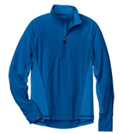 Custom Mens High Stretch Half-Zip Pullover