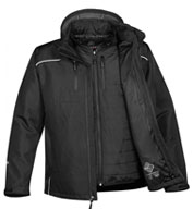 Custom Mens Atmosphere HD 3-in-1 System Jacket