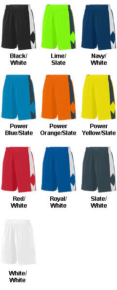 Adult Block Out Shorts  - All Colors
