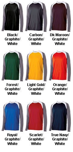 Adult Shield Long Sleeve Shirt - All Colors