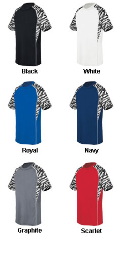 Youth Evolution Print Short Sleeve - All Colors