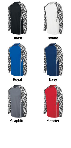 Adult Evolution Print Long Sleeve - All Colors
