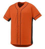 Custom Adult Full Button Slugger Jersey