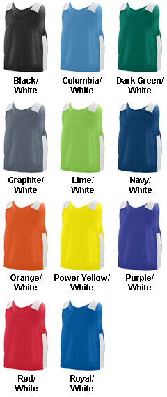 Youth Face Off Reversible Jersey - All Colors