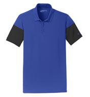 Custom Nike Golf Dri-FIT Sleeve Colorblock Polo
