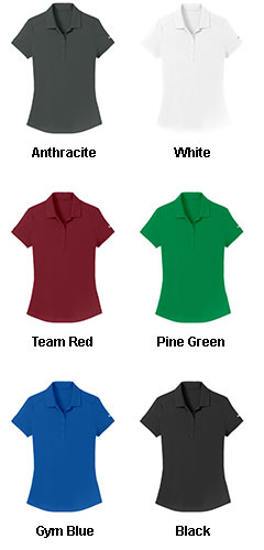 Nike Golf Ladies Dri-FIT Smooth Performance Polo - All Colors