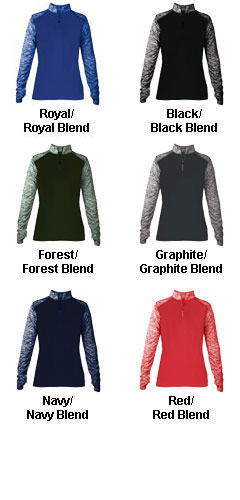 Ladies Sport Blend 1/4 Zip - All Colors