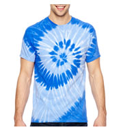 Custom Adult Tonal Spiral Tie-Dyed T-Shirt