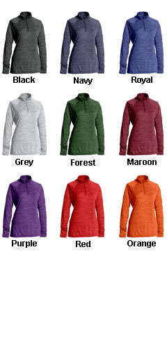 Womens Space Dye Performance Pullover - All Colors