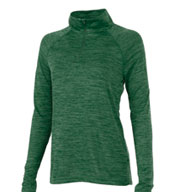 Womens Space Dye Performance Pullover