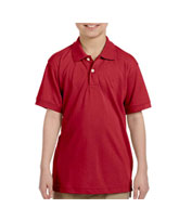 Custom Harriton Youth Easy Blend� Polo