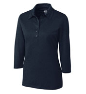 Custom Ladies CB DryTec™ 3/4 Sleeve Chelan Polo
