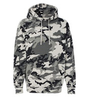 Custom Adult Hooded Pullover Sweatshirt-Camo Colors