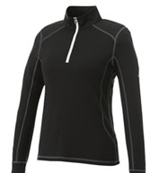 Custom Womens Puma Golf Tech 1/2-Zip Top