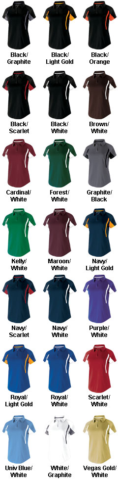 Ladies Short Sleeve Avenger Polo - All Colors