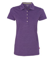 IZOD Ladies Heather Jersey Sport Shirt