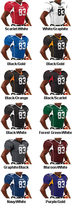 Adult Marker Football Jersey - All Colors