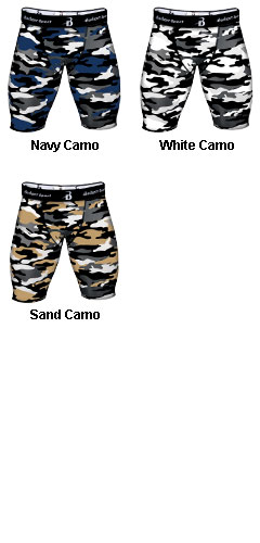 Camo Compression Short - All Colors