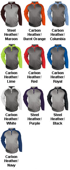 Adult Sport Heather 1/4 Zip - All Colors