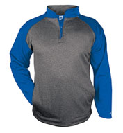 Custom Adult Sport Heather 1/4 Zip
