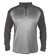 Custom Pro Heather Sport 1/4 Zip