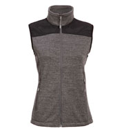 Custom Ladies Capitan Sweater Fleece Vest