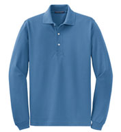 Custom Tall Rapid Dry� Long Sleeve Polo