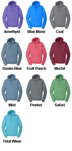 Essential Pigment-Dyed Pullover Hooded Sweatshirt - All Colors