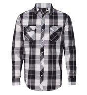 Burnside Long Sleeve Plaid Shirt