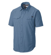 Custom Mens Columbia Silver Ridge Short Sleeve Shirt