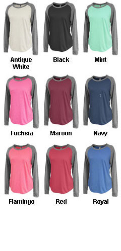 Womens Jersey Raglan Crewneck - All Colors
