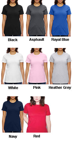 American Apparel Ladies Fine Jersey Classic T - All Colors