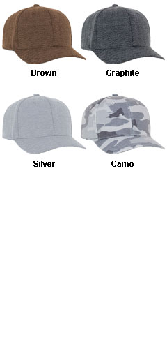Casual Structured Herringbone Cap - All Colors