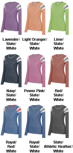 Ladies Long Sleeve Fanatic Tee - All Colors