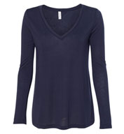Womens Flowy Long Sleeve Tee