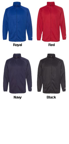 Rawlings Full-Zip Flatback Mesh Fleece Jacket - All Colors